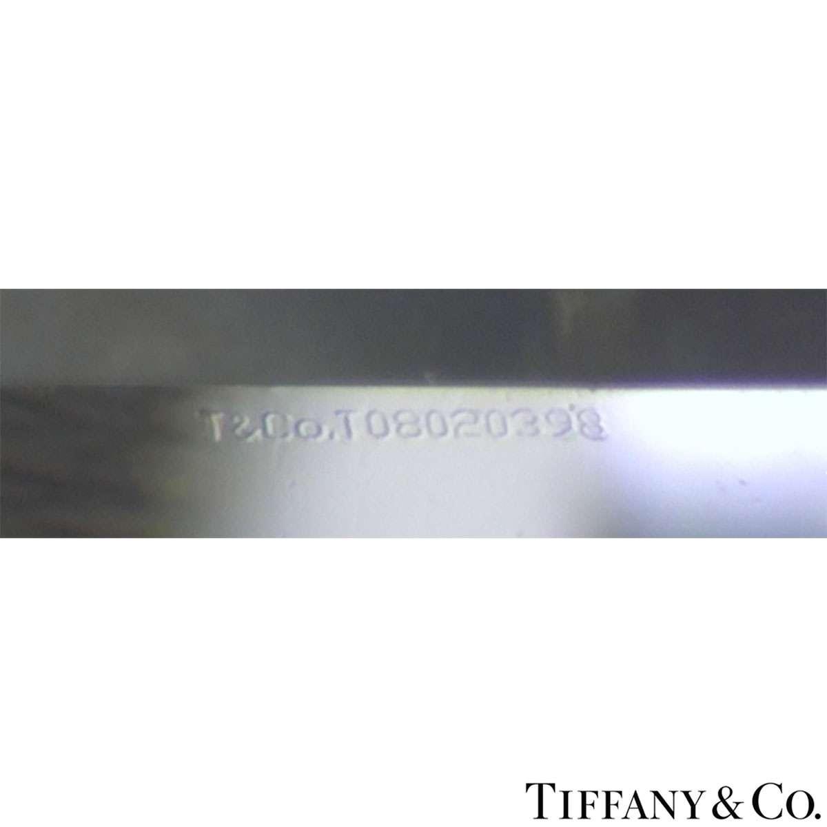 Tiffany & Co. Platinum Diamond Harmony Ring 0.72ct I/VS1 XXX